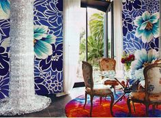 Purple Dining Room Wall Murals