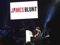 James Blunt & band on the last concert of the North American Divide Tour, opening for Ed Sheeran | Nashville, TN 07.10.2017