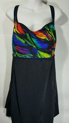Longitude paisley swim dress in multiple colors