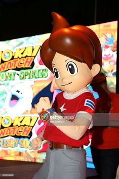 A general view of the atmosphere is seen at the YO-KAI WATCH 2 preview event at Siren Studios on September 8, 2016 in Hollywood, California.