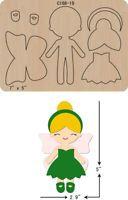New Princess Wooden Die Cutting Dies Scrapbooking felt - Her Crochet Felt Doll Patterns, Felt Crafts Patterns, Stuffed Toys Patterns, Fairy Templates, Felt Templates, Sewing Crafts, Sewing Projects, Felt Projects, Felt Fairy