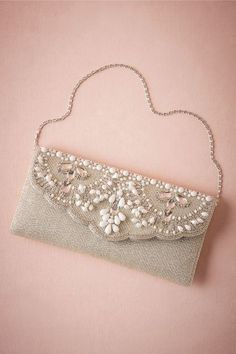 Matilda Beaded Clutch