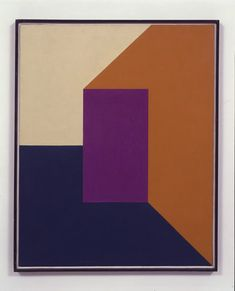 Frederick Hammersley - On In, 1961 oil on linen