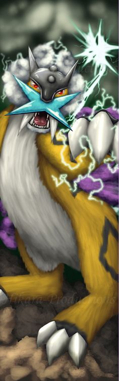 """Supercell Boundaries - Raikou by Hikara-Productions.deviantart.com on @deviantART"" (ZipZap Cat)"