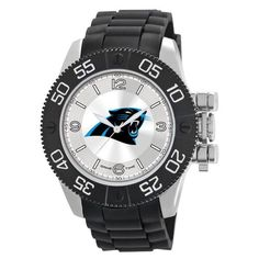 Officially Licensed Team Logo and Colors  Sunray Dial Stainless steel case back  Japan quartz movement Water resistant to 3 ATM (99 ft.) Limited lifetime warranty Heavy Duty Polyurethane strap with sports buckle Scratch Resistant Mineral CrystalLimited Lifetime Warranty