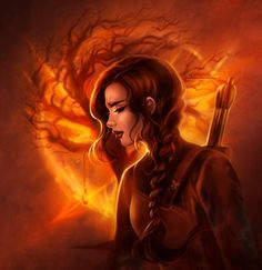 Katniss: Mockingjay by daekazu on DeviantArt
