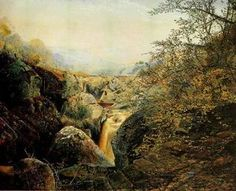 Colwith travail - (John Atkinson Grimshaw)