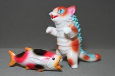 しつこいくらいにネコだらけの 『ネゴラ祭り』 - MAX TOY の ソフビ人形