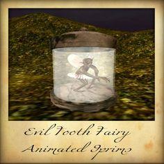 Del's Odd Shop - Animated Evil Tooth Fairy;  http://slurl.com/secondlife/Tenney/107/30/1360