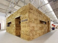 now this Jawbone would love to do one day ! Farming expo ! straw bale expo stand