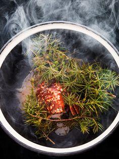 Smoked lobster by chef Kei Kobayashi. © Richard Haughton - See more at: http://theartofplating.com/editorial/kei-kobayashi-picasso-in-the-kitchen/#sthash.va2HUoOQ.dpuf