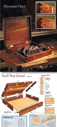 Silverware Chest Plans - Woodworking Plans and Projects | WoodArchivist.com