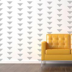 Custom Modern Wallpaper Look Decals Vinyl Stickers by Decomod Walls by decomodwalls on Etsy https://www.etsy.com/listing/155576637/custom-modern-wallpaper-look-decals