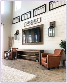 Living Room TV Frame 13 adorable tv wall decor ideas 00010 How To Buy Kid's Rugs Those that are look Family Room Walls, Room Design, Mounted Tv Ideas Living Rooms, Tv Wall Design, Ship Lap Walls, Large Wall Decor Living Room, Trendy Living Rooms, Living Room Lighting, Living Room Tv Wall