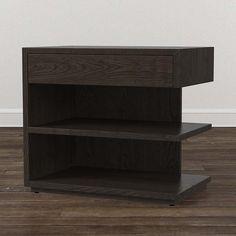 Bassett Furniture - MODERN Left Jelle Nightstand