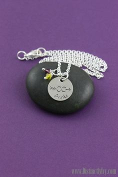 Cross Country XC season is here!  Personalized necklace makes a great team gift.