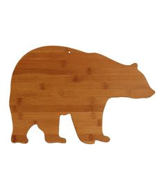 Loving this Bear Cutting Board by Totally Bamboo on #zulily, $14 !!  #zulilyfinds