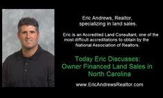 Owner Financed Land Sales in Chatham County North Carolina  www.ericandrewsrealtor.com/owner-financed-nc/