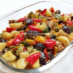 Roasted Vegetables One of my favorite ways to eat and make vegetables.  #veganfood