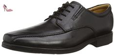 Clarks Tilden Walk, Derby homme, Noir (Black Leather), 39.5 - Chaussures clarks (*Partner-Link)