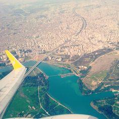 Adana  Seyhan  Turkey Uçak Türkiye Pegasus Şakirpaşa airport