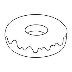 Wie zeichnet man einen Donut – Really Easy Drawing Tutorial – Donut Donut Drawing, Cupcake Drawing, Easy Drawing Tutorial, Summer Crafts For Toddlers, Toddler Crafts, Animal Coloring Pages, Coloring Books, Colouring, Art Drawings Sketches