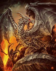 Steel dragon 7 Magos Cover book by Chaos-Draco.deviantart.com on @DeviantArt