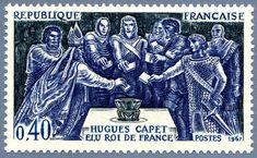 Hugues Capet élu Roi de France