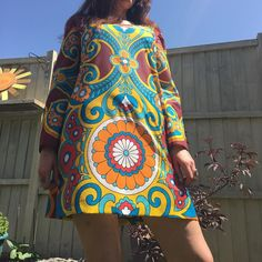 """BongosFreakout on Instagram: """"Now reserved #60sclothes #70sclothes #mod #psychedelic #1960s #1970s #handmade #vintageclothing #1960sfashion #1970sfashion #sewyourown…"""" 1960s Fashion, Make Time, Psychedelic, Lily Pulitzer, 1970s, Stitching, Vintage Outfits, Handmade, Clothes"""