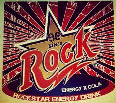 ROCKSTAR ENERGYXCOLA