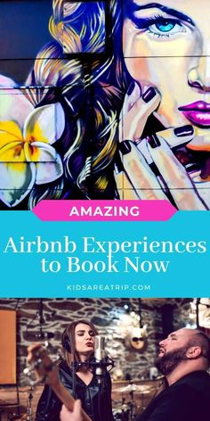 Have you ever tried to find unique experiences on vacation or in your own backyard? You're in luck, because Airbnb experiences offers local tours of all shapes and sizes. Here are some of our favorite Airbnb experiences ideas for you to try out! - Kids Are A Trip |airbnb tour| unique tour| tour ideas| local tourism| local tour guide| local tours