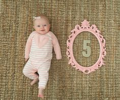 Monthly Baby Pictures. The Winemakers Wife.