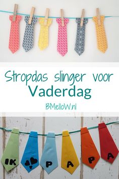 Stropdas slinger voor Vaderdag. BMelloW.nl 3d Pencil Drawings, Nicu, Crafts For Kids, Daddy, Baby Shower, School, Caravan, Crafts For Children, Babyshower
