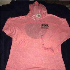 Pink Victoria Secret Hoodie Size medium PINK Victoria's Secret Sweaters Crew & Scoop Necks