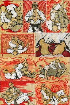 5x7jiujitsu   Art by Smalls   John Smalls