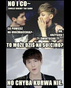 🖕Tytuł👆 #fanfiction # Fanfiction # amreading # books # wattpad K Meme, Exo Memes, Suho, Polish Memes, Read News, K Pop, Cringe, Lgbt, Funny