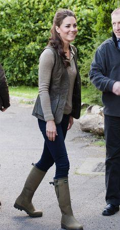 Kate Middleton'un favorisi Le Chameau..