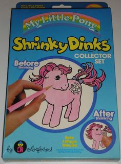 My Little Pony | 25 Awesome Shrinky Dinkys From The'80s