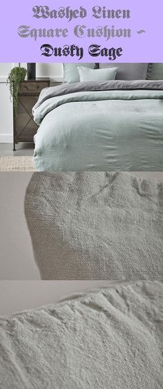 The right accent for our Rustic Washed Linen Bedding – Dusky Sage, our massive, rectangular cushion has the cosiest duck feather inside. Crafted from pure linen with a country, washed impact, its good for on a regular basis use and. Linen Bedding, Sage, Cushions, Pure Products, Decoration, Ideas, Toss Pillows, Dekoration, Salvia