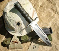 """Four-Line Narrow Font M9 4th Generation Patent Pending Phrobis III M9 Bayonet"":"