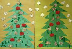 Vánoční strom - 4. třída Advent Calendar, Holiday Decor, Home Decor, Decoration Home, Room Decor, Advent Calenders, Home Interior Design, Home Decoration, Interior Design