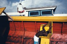 Available for sale from Etherton Gallery, Alex Webb, Puerto Cabezas, Nicaragua Digital type c-print on Fuji Crystal Archive paper, 20 × 30 in Urban Photography, Artistic Photography, Color Photography, Film Photography, White Photography, Street Photography, Landscape Photography, Nature Photography, Travel Photography