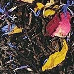 Heaven & Earth (Mango Note) This is also the town motto for Mt. Shasta: a place between heaven and earth! An other reason to love the steep side!  Ingredients: black tea, natural flavoring, rose petals, sunflower and cornflower blossoms Beautiful looking tea with colorful flowers and mango flavors.