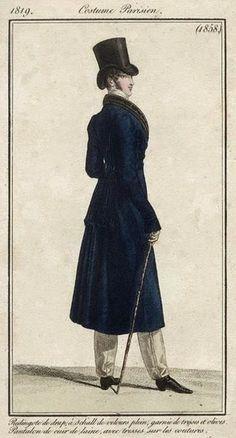 Costume Parisien 1819