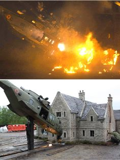 Special effects behind the Bond films' death defying stunts revealed James Bond Movie Posters, James Bond Movies, James Bond Skyfall, Aston Martin, Romantic Comedy Movies, Star Wars Set, Adventure Movies, Fantasy Movies, Scene Photo