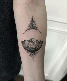Tattoos for men, tattoo of tree, minimal tattoo, minimal tattoo of tree, tattoo of tree m Tattoos fo Body Art Tattoos, New Tattoos, Sleeve Tattoos, Tattoo Sleeves, Cool Tattoos For Guys, Cute Tattoos, Tatoo Ideas For Guys, Tattoo For Man, Simple Mens Tattoos