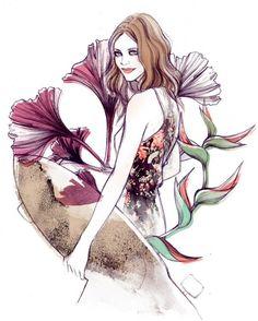 Soleil Ignacio - Fashion Illustrations by Soleil Ignacio  <3 <3