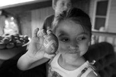 God's Country, 2017. Alyrya shows off her swastika Easter egg.