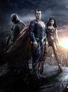 Batman v Superman Dawn Of Justice Trinity Gallery Print