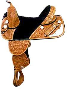 Bob Marshall tree-less saddle.  Light weight. (17 lbs.) Feel your horse under you like never before..  Best saddle I've ever had considering I have a lot of back problems.  Circle Y has a simular saddle.  Just not the same thing at all.